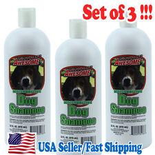 (3 pcs) Jumbo Package Moisturizing Dog Hair Skin Conditioners Shampoo 976 mL