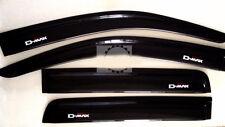 ISUZU RODEO NEW DMAX D-MAX 12-13 4 DOOR WIND SHIELD AIR GUARD VISOR RAIN WEATHER