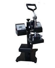 New listing Clamshell style heat press Rosin Press Dual Element Heating b