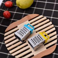 Mini 4 Seiten Multifunktions-Handheld Reibe Hobel Obst Gemüse Küchenwerkzeug