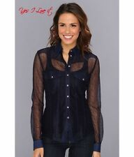 C-tale Diesel-e camicie in color navy taglia S UK8 EU36 US4 RN93243 CA25594