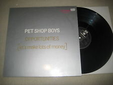 Pet Shop Boys - Opportunities    12'' Vinyl Maxi