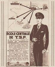 Z8430 Ecole Centrale de T.S.F. - Pubblicità d'epoca - 1935 Old advertising