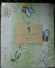 NEW POTTERY BARN KIDS twin DANDELION duvet cover bumble bees flowers