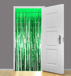 2M Foil Fringe Tinsel Shimmer Curtain Door Wedding Birthday Party DECORATIONS