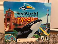 SeaWorld Adventure Parks Tycoon (PC, 2003) In great condition!