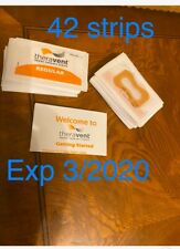 TheraVent Snore Therapy REGULAR Single Use nasal strips Lot Of 42 Exp 3/20