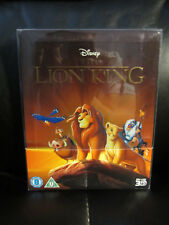 Lion King 3D/2D Blu-Ray Steelbook [UK] Region Free Mint Disney w/Protective Case
