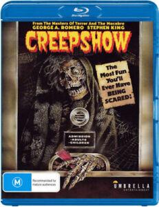 Creepshow (Blu-Ray) NEW/SEALED [All Regions]