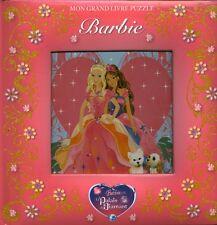Livre Barbie Le palais de diamant 5  puzzles book