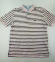 Brooks Brothers Polo Shirt Mens XL Pink Original Cotton Short Sleeve