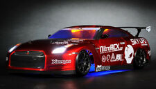 Exceed RC MadSpeed GT-R Drift King Brushless 1/10 Electric RTR LED Radio Car Red