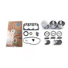 S3L S3L2 Engine Rebuild Kit for Mitsubishi w/ Piston Cylinder Gasket Bearing Set