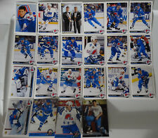 1992-93 Upper Deck UD Quebec Nordiques Team Set of 22 Hockey Cards