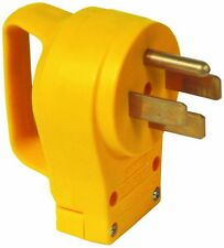 Camco 55255 RV 50 Amp Electrical Cord Male Replacement Plug End w/Handle