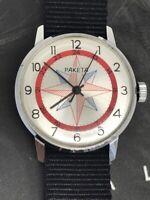 Rare Men`s Vintage Watch Raketa 2609 Compass USSR Mechanical Russian Watch