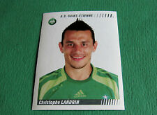 N°431 LANDRIN AS SAINT-ETIENNE ASSE VERTS PANINI FOOT 2009 FOOTBALL 2008-2009