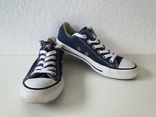 Converse All Star Chucks Sneaker Turnschuhe Slim Low Stoff Blau Gr. 4,5 / 37