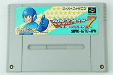 ROCKMAN 7 Megaman SNES CAPCOM Nintendo Super Famicom From Japan