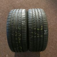 2x Continental ContiSportContact 5 MO 225/40 R18 92Y DOT 4717 Sommerreifen 7 mm