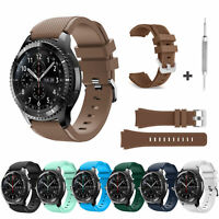For Samsung Galaxy Gear S3 Sport Rubber Silicone Replacement Wrist Strap Band US