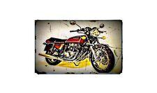 1976 honda cb 750f1 supersport Bike Motorcycle A4 Retro Metal Sign Aluminium