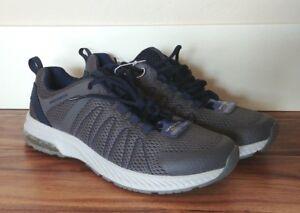 NEW Men's SKECHERS Charcoal Navy Fluency Memory Foam Sneakers Shoes Size 9 US