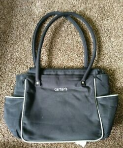 Carter's Black Diaper Bag