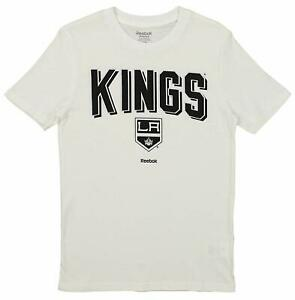 Reebok NHL Youth Los Angeles Kings Short Sleeve Arch Standard Tee