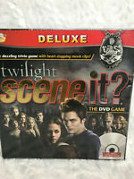 New Deluxe The Twilight Saga Scene It The DVD Family Game NIB Factory Sealed