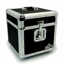 Gorilla Vinyl Record Box Storage Protection Container Strong Butterfly Latches