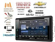 1992-2012 Chevrolet Impala Malibu S10 Bluetooth Sirius Xm Ready Combo Lcd Dvd