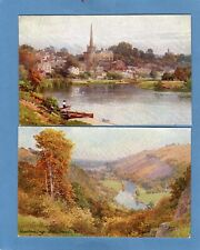 Set 6 The River Wye  A G Bradley & Sutton pcs unused A & C Black ser 40 Ref S156
