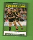 1991 RUGBY LEAGUE CARD #177, KANGAROOS V LIONS, LANGER