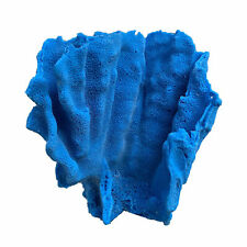 New listing Artificial Aquarium Coral - Blue Ridge Coral Bright Blue - Made in Usa