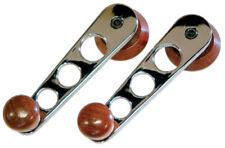 MK1/2 SCIROCCO Winders, chrome & wood, 68> pr. - AC837611