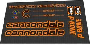 Cannondale Killer V800/Cannondale SM800 Decal Set