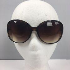 O by Oscar de la Renta Sunglasses Mod1157 Gradient Brown Oversized