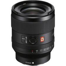 Sony FE 35mm F1.4 G Master Prime Fixed Focal Length Lens - E-mount SEL35F14GM