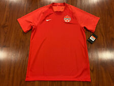 2019-20 Nike Breathe Men's Canada National Team Home Soccer Jersey Large L
