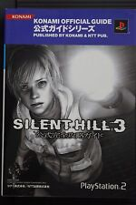 JAPAN Silent Hill 3 Official Kanzen Kouryaku Guide & Silent Hill Chronicle (Book