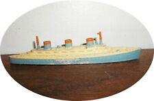 NICE TOOTSIETOY TRANSPORT SHIP~ COMPLETE ~ BARCLAY SIZE !