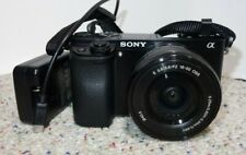 Sony a6000 24.3MP  Camera W/ 16-50mm Lens * Shutter Count 6,350 Black