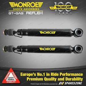 Pair Rear Monroe Reflex Shock Absorbers for SAAB 9-3 Gen II Sedan 03-12