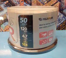FUJIFILM BOX DVD+R  50 DISCS 4.7GB 16X 120MIN
