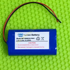 1PC 18650 7.2V 7.4V 2200mAh 2S Li-ion rechargeable battery side by side type