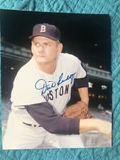 Dick Radatz Autographed 8x10 Photo Boston Red Sox Pitcher 1962-1966 THE MONSTER
