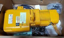 New Harrington Ner2010l 10 1 Ton 10 Ft Lift 230460 Volt 14 Fpm Chain Hoist