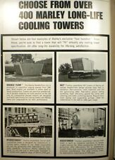 MARLEY Cooling Towers ASBESTOS Fill Hydrotower 1967 AD