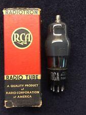 1 NOS NIB RCA 6F8G Smoked Glass Audio Tube USA 1956